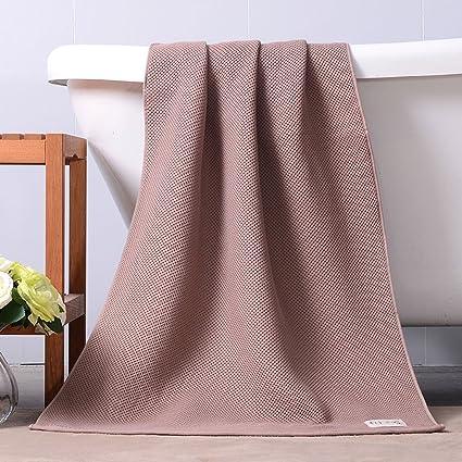 LINGZHIGAN Toalla de baño de gama alta de algodón puro Toallas de baño caseras absorbentes suaves