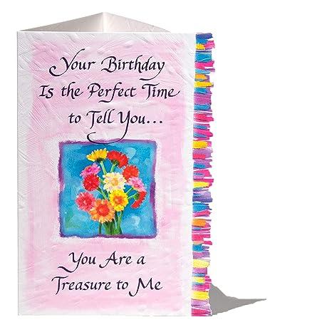 Amazon.com: Tarjeta de felicitación de cumpleaños Blue ...