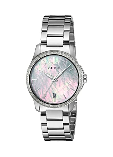 0ed5fd61090 Orologio Da Donna Gucci YA126543  Amazon.it  Orologi