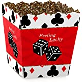 Las Vegas - Party Goodie Favor Boxes - Casino Party Treat Candy Boxes - Set of 12
