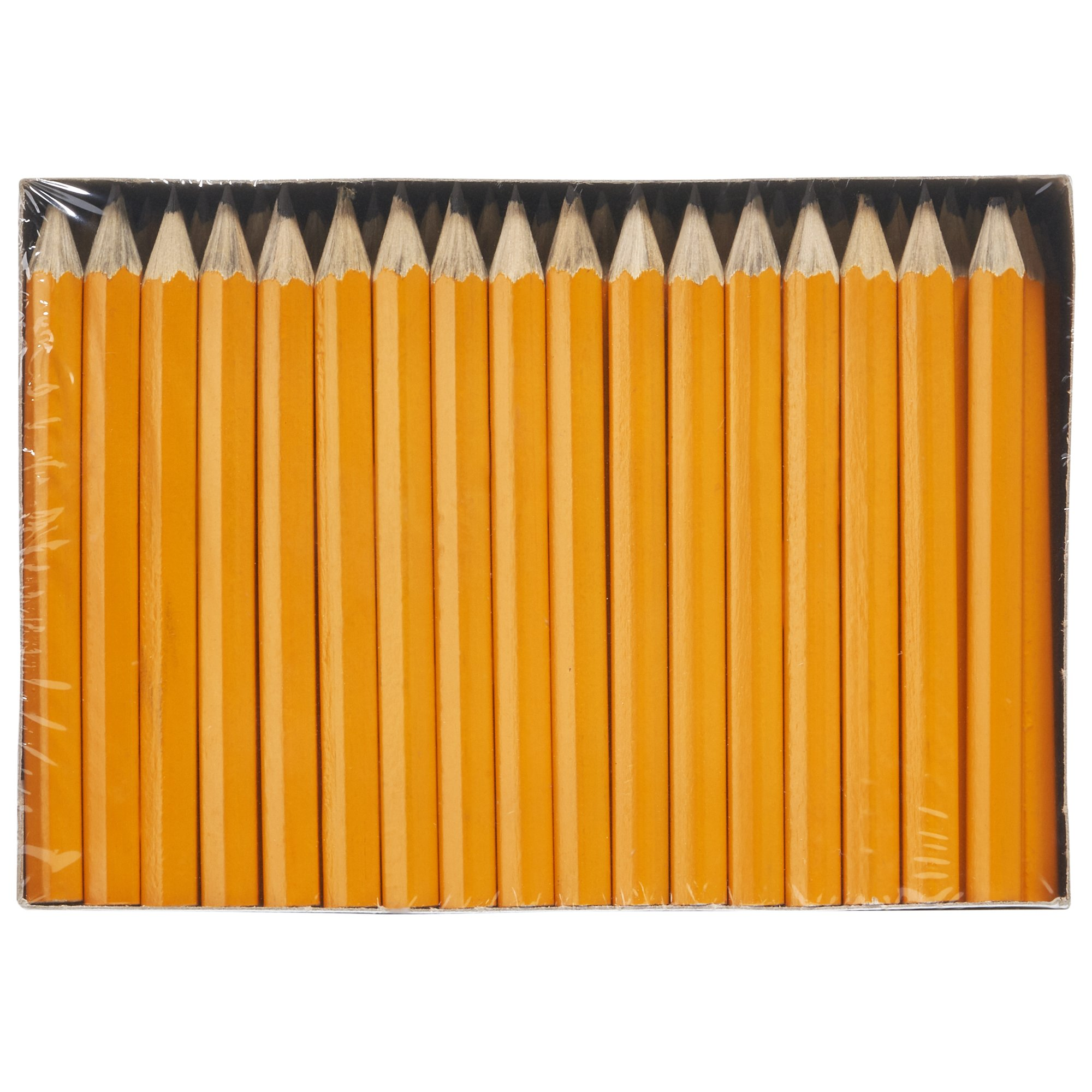 Dixon Golf Pencils, #2 HB Soft, Pre-Sharpened, Yellow, 144 Count (14998) by Dixon (Image #1)