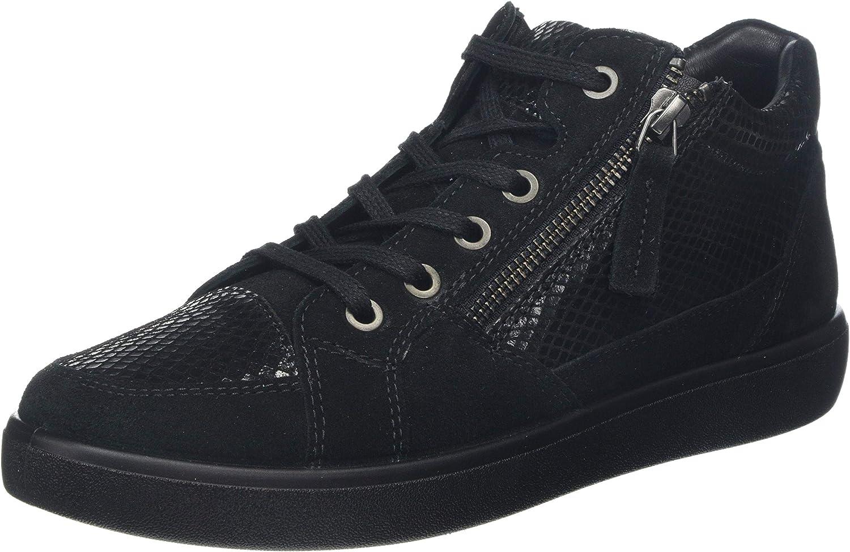 Schwarz (schwarz Multi 5) 42 EU Hotter Damen Rapid Kurzschaft Stiefel