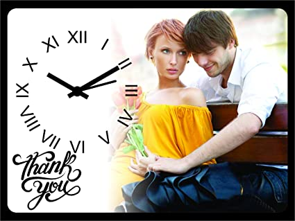 Decorative India Customised Personalized Birthday Anniversary Gift Table Clock For Girlfriend Boyfriend Husband Wife Mom Dad