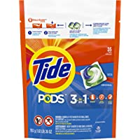 Tide Pods Original Liquid Laundry Detergent Pacs, (Pack of 35)