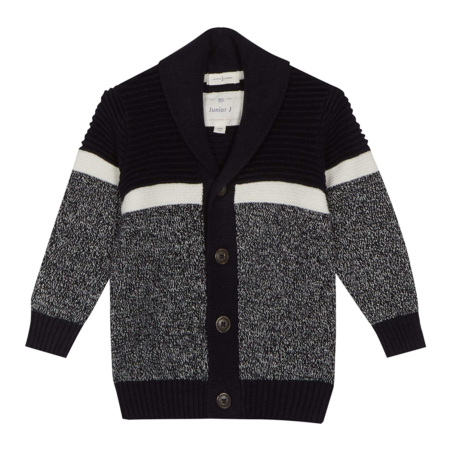 J by Jasper Conran Kids Boys' Navy Knit Cardigan