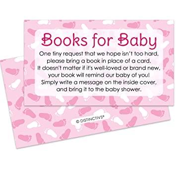 Amazon books for baby request cards girl baby shower books for baby request cards girl baby shower invitation inserts 20 count filmwisefo