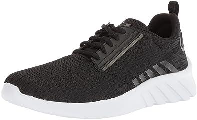8157a6d4aee65 K-Swiss Women s Aeronaut Sneaker Black White 5 ...