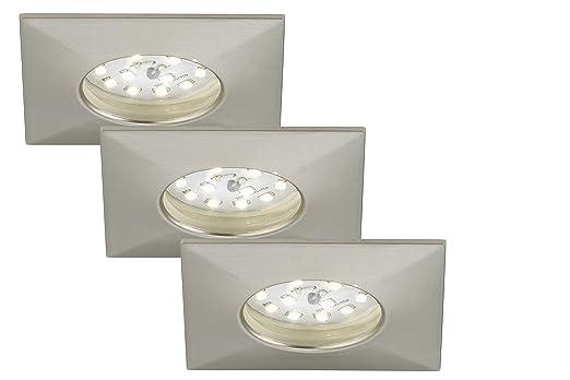 Briloner Leuchten 7205-032 LED Einbauleuchte, Einbaustrahler, LED ...