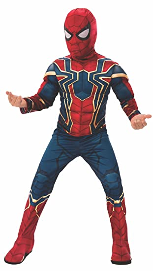 Rubies Marvel Avengers: Infinity War Deluxe Iron Spider Childs Costume, Small