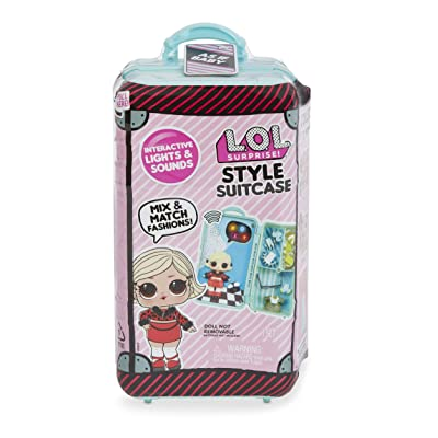 L.O.L. Surprise! Style Suitcase Electronic Playset - As if Baby: Toys & Games
