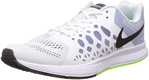 acbe56451a52 Image Unavailable. Image not available for. Colour  Nike Men s Air Zoom  Pegasus 31 Blue and White Running Shoes ...