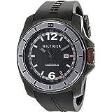 Tommy Hilfiger 1791114 - Reloj de pulsera hombre, Silicona, color Negro