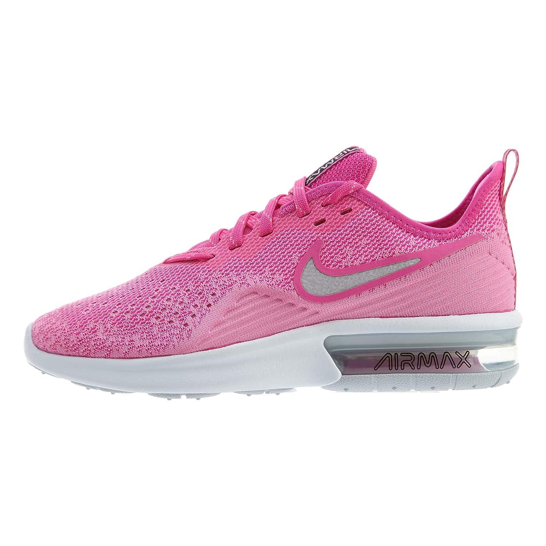 MultiCouleure MultiCouleure MultiCouleure (Laser Fuchsia  Metallic argent 601) Nike WMNS Air Max Sequent 4, Chaussures d'Athlétisme Femme d13