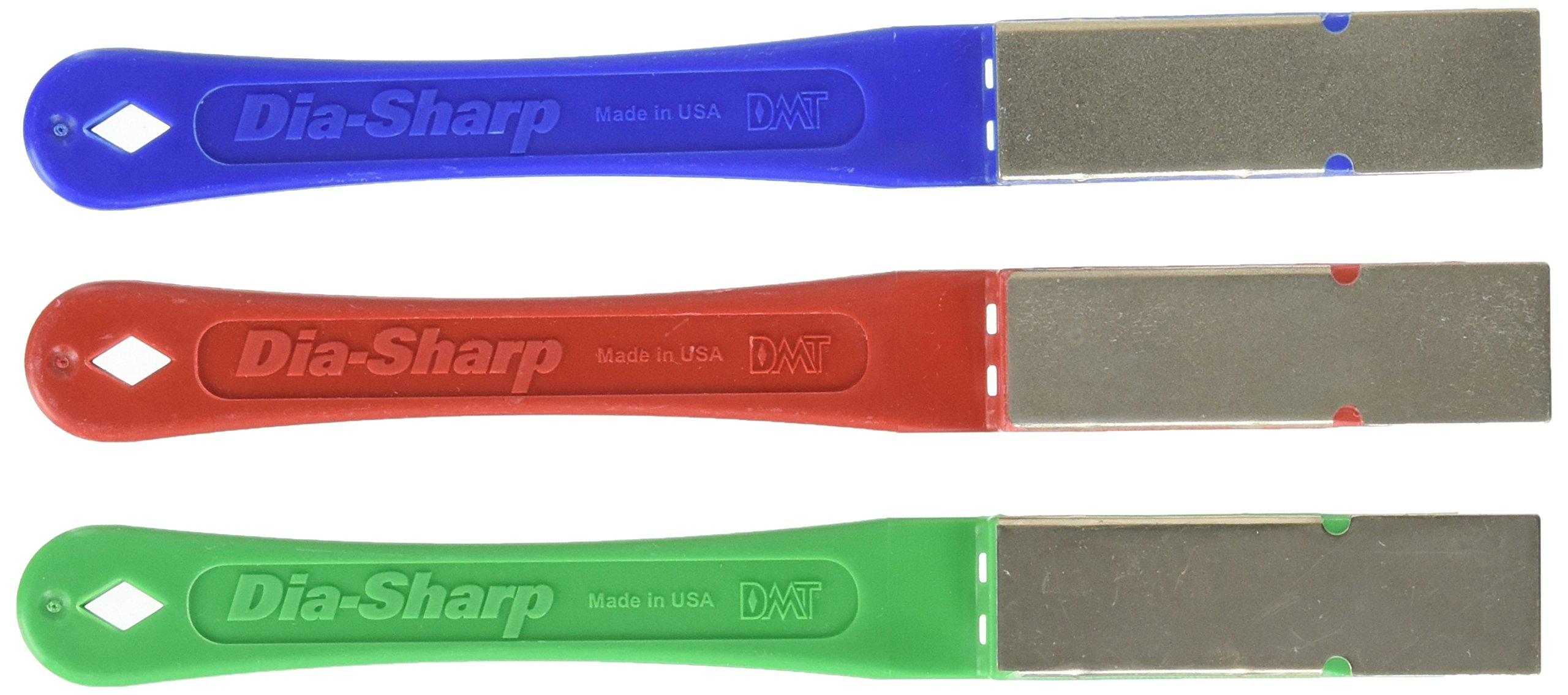 DMT OD2K 2-1/2-Inch Dia-Sharp Mini-Hone Kit of 3 Diamond Grits C/F / E