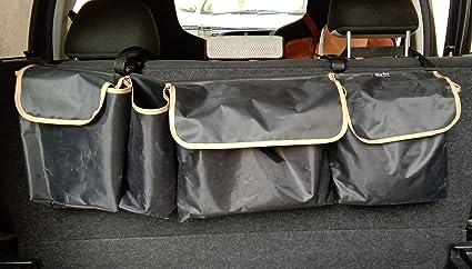 Truck Seat Organizer >> Trunk Organizer Car Organizer Car Seat Organizer Trunk Storage Cargo Organizer Vehicle Storage Suv Trunk Truck Minivans Hatchback Black