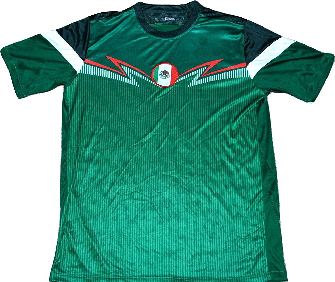 online retailer 60287 d88db Amazon.com: Mexico Soccer Jersey FIFA World Cup National ...