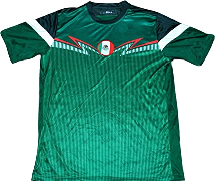 add06b062843c Amazon.com: Mexico Soccer Jersey FIFA World Cup National Team Men's ...