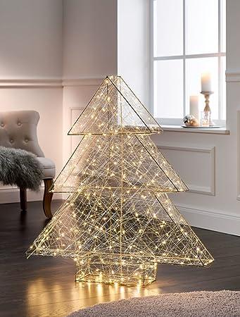 Tannenbaum Beleuchtet Kunststoff.Pureday Weihnachtsdeko Tannenbaum Modern Beleuchtet Mit 260 Leds