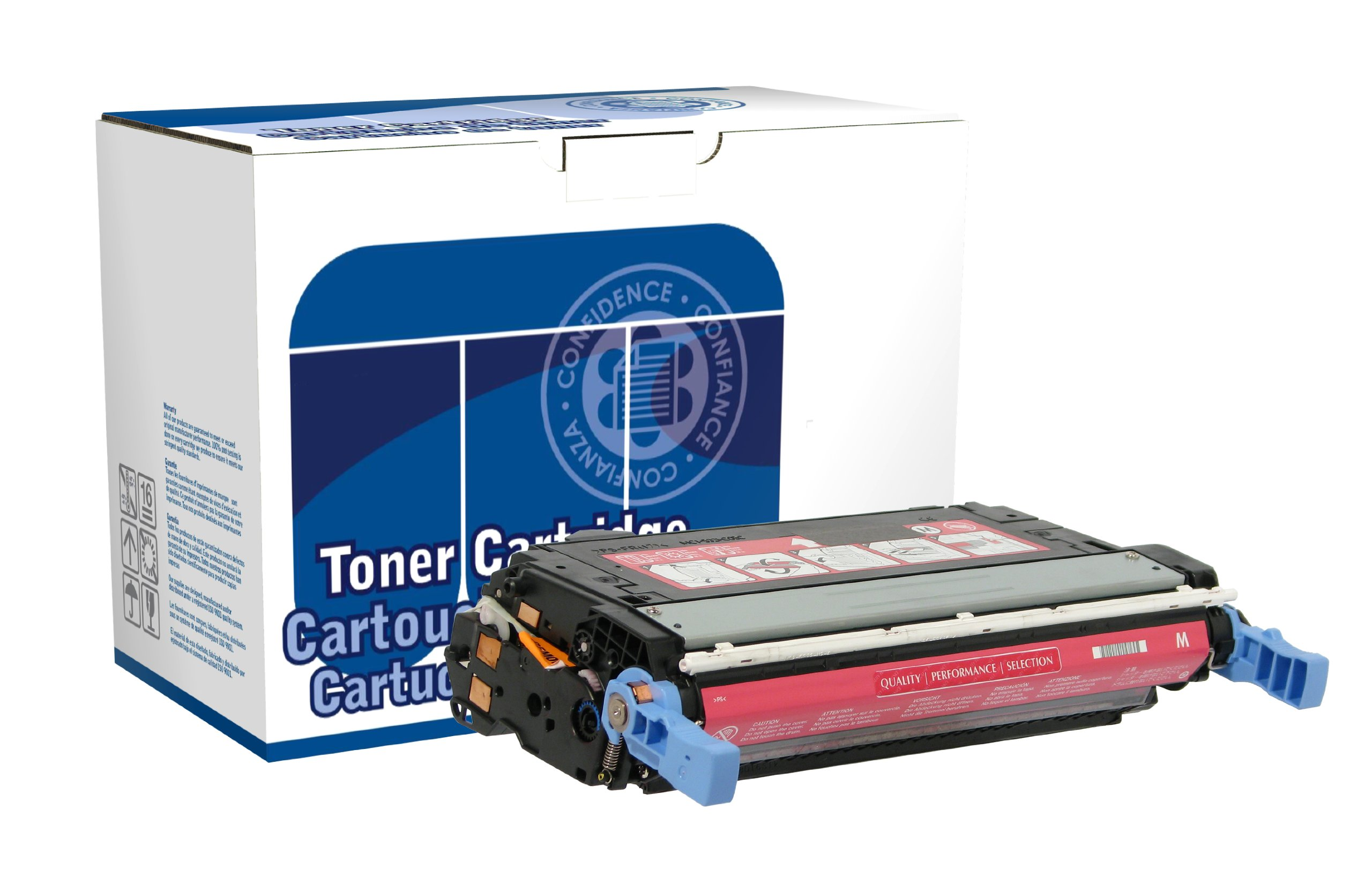 Dataproducts DPC4005M Remanufactured Toner Cartridge Replacement for HP CB403A (Magenta)