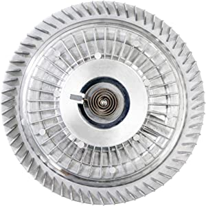 BOXI Engine Cooling Fan Clutch for 2000-2002 Dodge Ram 1500 2500 3500/1999-2004 Jeep Grand Cherokee / 2002-2008 Jeep Liberty / 3.7L 4.0L 4.7L 5.9L Replaces 52028944AB 55116813AA