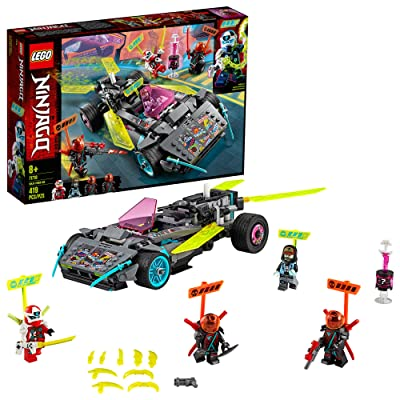 LEGO NINJAGO Ninja Tuner Car 71710 Toy Car for Kids Building Kit, New 2020 (419 Pieces): Toys & Games