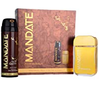 Mandate 2 Piece Gift Set includes Aftershave 100ml & Body Spray 200ml