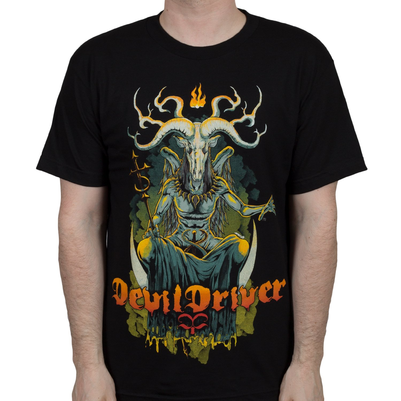 32ad29ab61 well-wreapped Devil Driver Band Baphomet T-Shirt - seliba-sa-boithuto.nl