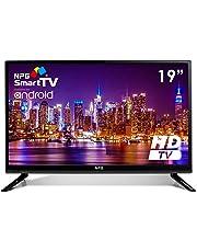 """Televisor 19"""" LED NPG Smart TV Android HD TDT2 H.265 WiFi USB Grabador TVS412L19H"""