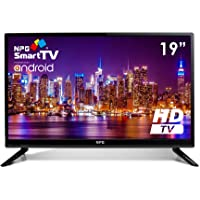 "Televisor 19"" LED NPG Smart TV Android HD TDT2 H.265 WiFi USB Grabador TVS412L19H"