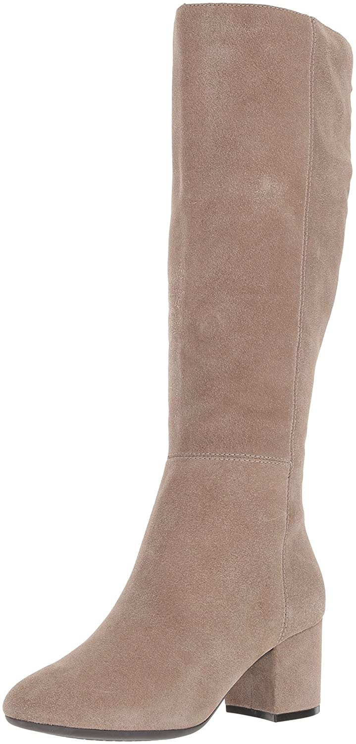 Aerosoles Women's Stock Market Knee High Boot B06Y5V3GN9 10 B(M) US|Taupe Suede