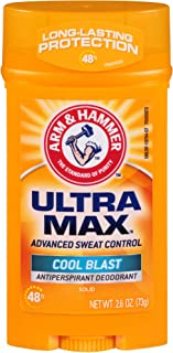 product image for ARM & HAMMER Ultra MAX Deodorant- Cool Blast- Solid - 2.6oz- Made with Natural Deodorizers