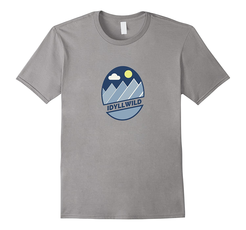 Retro Blue Mountains - Idyllwild California T Shirt-ah my shirt one gift