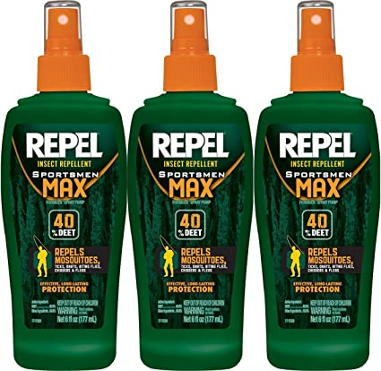 Amazon Com Mosquito Repellent By Repel Sportsmen Max Best Deet