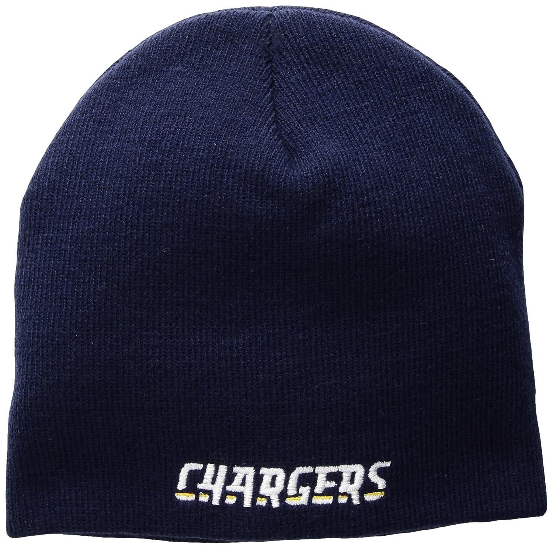 Outerstuff NFL ユースボーイズ ベーシック カフレス ニット帽 ダークネイビー 1サイズ ロサンゼルスチャージャー   B073X7HQVT