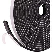 Fowong Strong Ruban adhésif double face noir mousse bande de montage pour absorption des chocs et isolation phonique Boîte résistante aux chocs