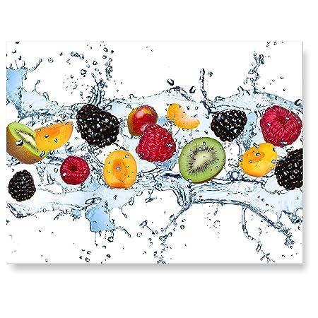 Lanakk Rear Fine Art Print Fruit Kitchen Splash Back Glass Glass