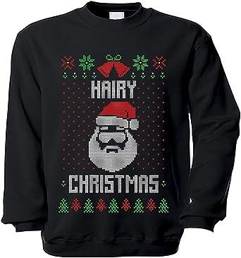 Copytec Suéter Peludo Navidad Cabello Masculinidad Árbol