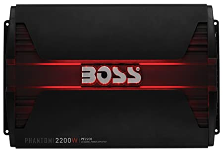 Boss Audio Systems PF2200 Alámbrico Negro - Amplificador de Audio (2200 W, A/B, 0,01%, 103 dB, 413 W, 206 W): Amazon.es: Electrónica