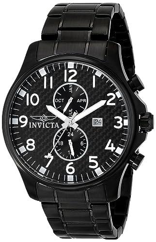 Invicta 0383 - Reloj para hombres, correa de acero inoxidable: Amazon.es: Relojes