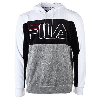 fila queens hoodie. fila men\u0027s baggio velour hoody shirt, white, varsity heather, black, queens hoodie