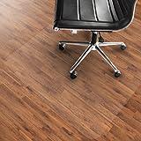 etm® PVC Chair Mat, Hard Floor Protection - 90x120cm (3'x4') | Multiple Sizes | Highly Transparent