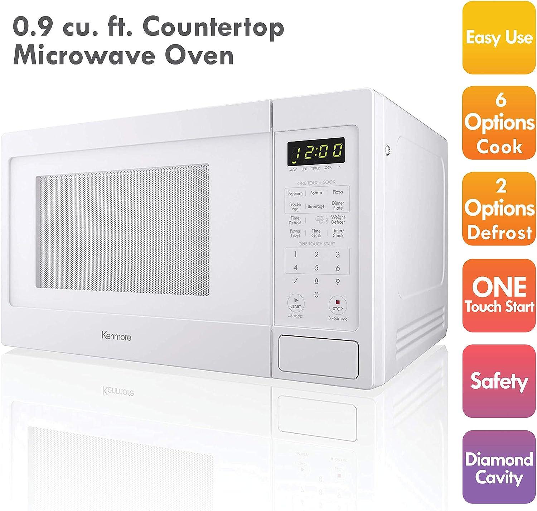 Amazon.com: Kenmore Elite 70922 0.9 cu. ft Pequeño compacto ...