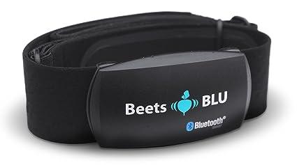 Beets BLU Monitor de frecuencia Cardíaca, por Bluetooth, Correa para el Pecho para iPhone y Android