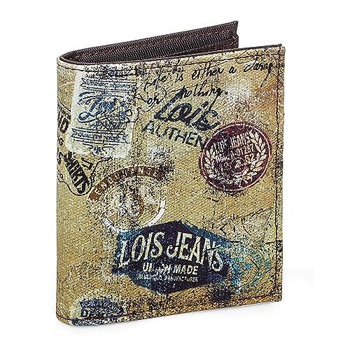 Lois - Cartera Juvenil Chico Lona Estampada. Billetero Monedero Tarjetero Porta Monedas. Compartimentos Tarjetas Documentación y Billetes. Caja ...