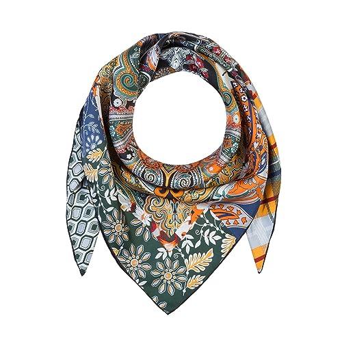Roeckl -  Fazzoletto da collo  - Donna Nero Nero multicolore Taglia unica