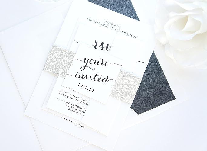 amazon com corporate gala invitations sample set handmade
