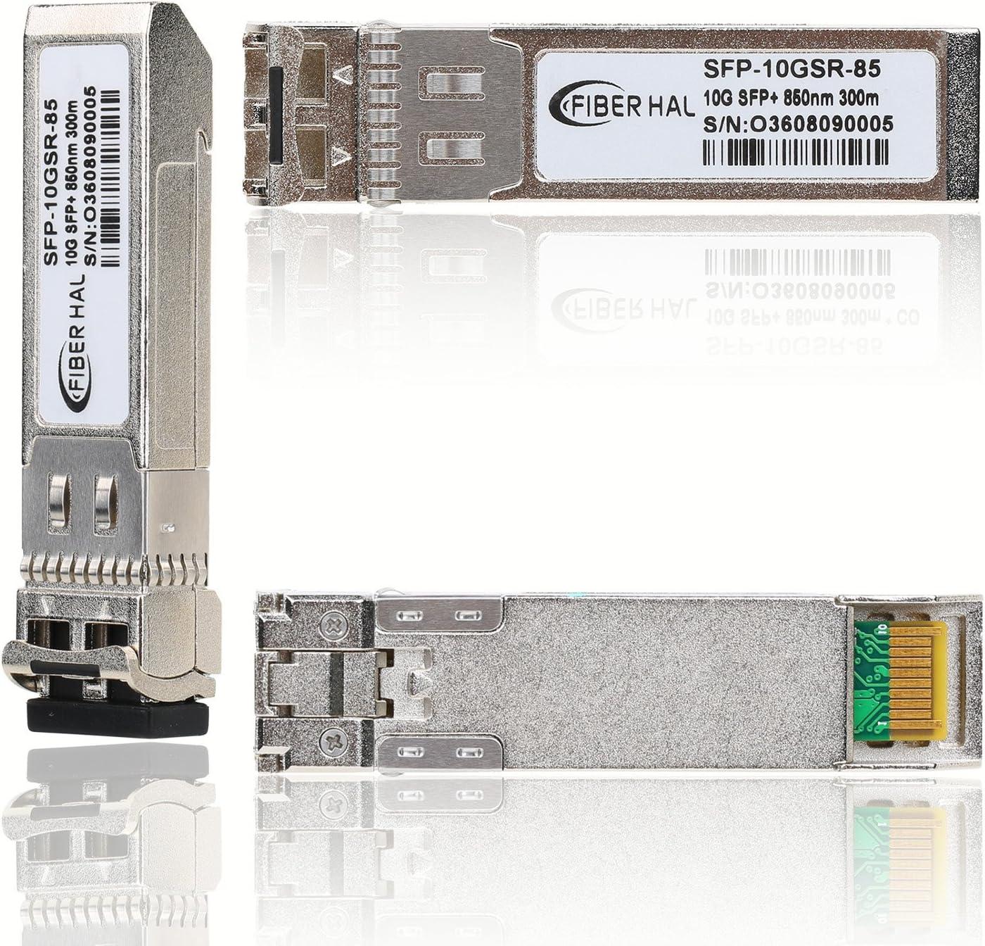 FiberHal for Cisco GLC-SX-MMD 850nm Reach 550m 1000Base-SX SFP Optic Transceiver SFP SX Module MMF Gigabit Mini-GBIC