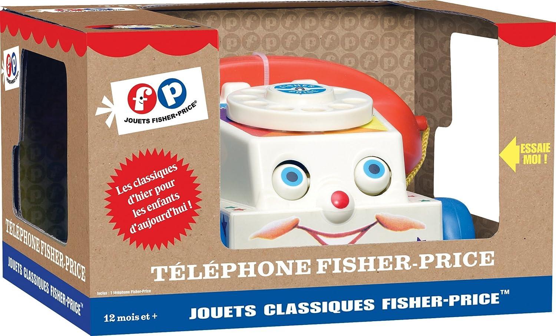 Fisher-Price Jouet /à Tirer Le T/él/éphone
