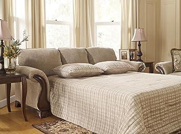 Amazon.com: Ashley Lanett Queen Sofa Sleeper, Barley ...
