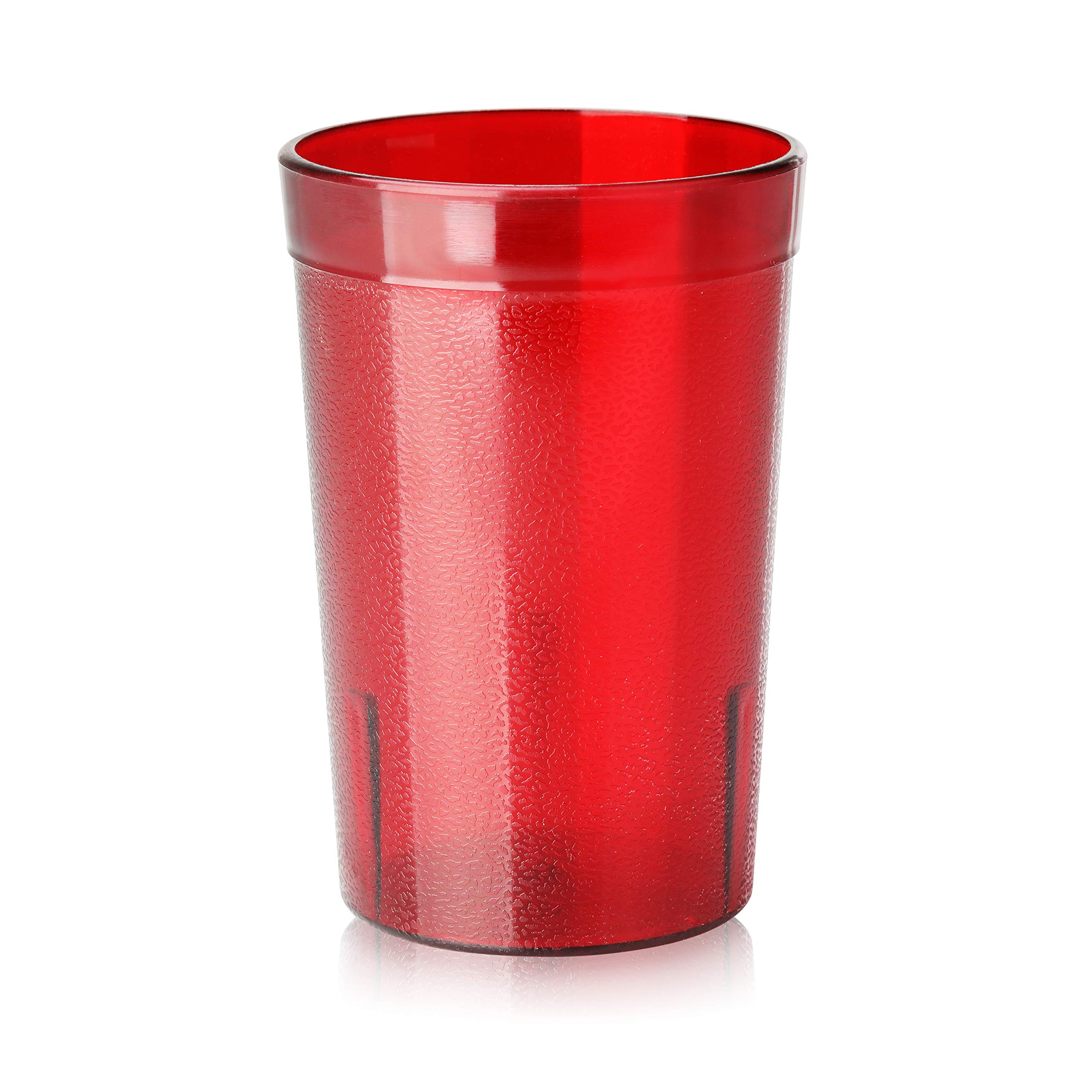New Star Foodservice 46670 Tumbler Beverage Cup Stackable Cups Break Resistant Commercial Plastic 8 Oz Red Set Of 72 Buy Online In Aruba At Aruba Desertcart Com Productid 18896666